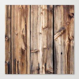 Wood pattern Canvas Print
