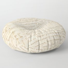 French Contract 1697 Floor Pillow
