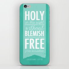 Colossians 1:21-22 iPhone & iPod Skin