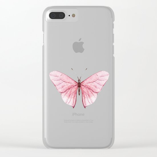 Butterfly 03 Clear iPhone Case