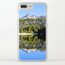 Todd Lake Clear iPhone Case