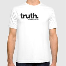 truth. {Limited Edition} MEDIUM Mens Fitted Tee White