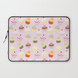 Cupcake Pattern Laptop Sleeve