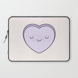XOXO Candy Heart - Lilac Laptop Sleeve