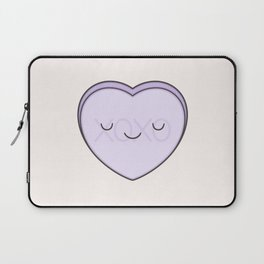 XOXO Candy Heart - Lilac Laptop Sleeve