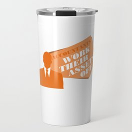 Accountants Work Their Assets Off Funny Accountant Cpa Graduate Bookkeeper Travel Mug