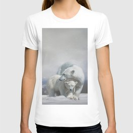 Polar Bear Family T-shirt