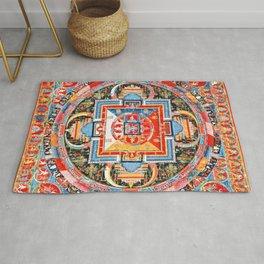Mandala Buddhist 6 Rug