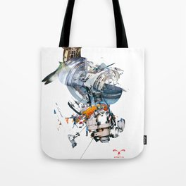 BQ-45 Spacecraft Tote Bag