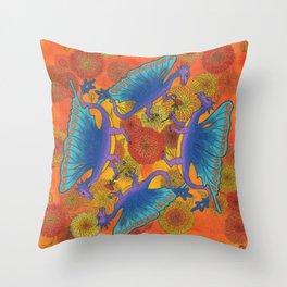Dragondala Fall Throw Pillow