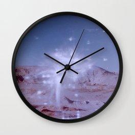 Light Leaks in the Desert Wall Clock