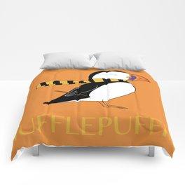 Hufflepuffin Comforters