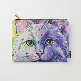 Not so white cat Carry-All Pouch