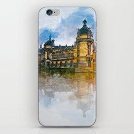 Château de Chantilly iPhone Skin