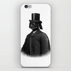 Lord Vadersworth (mono) iPhone & iPod Skin