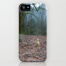 The World She Lives In iPhone Case