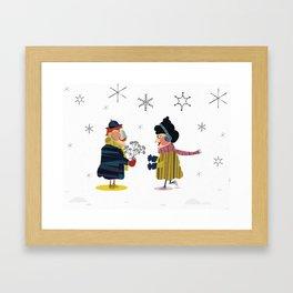 Frank and Wanda Framed Art Print
