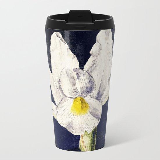 The sweetness in an Iris Metal Travel Mug
