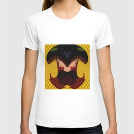 A red-haired woman - Abstrac37 T-shirt