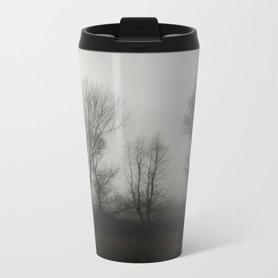 Foggy Morning Metal Travel Mug