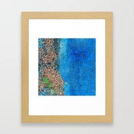 NVSV SPCS_blue asphalt Framed Art Print