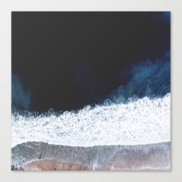 Ocean III (drone photography) Canvas Print