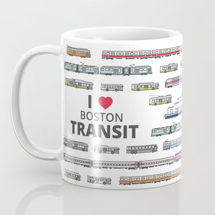 The Transit of Greater Boston Coffee Mug