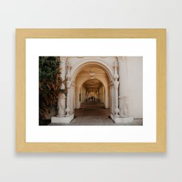 Archways of Beauty Framed Art Print