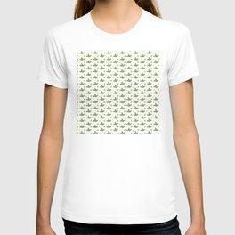 Christmas Pattern 1 Holly tree T-shirt