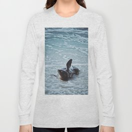 Hello Sea Lion Long Sleeve T-shirt