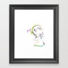 haritsadee 5 Framed Art Print