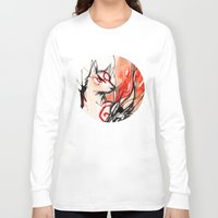 okami Long Sleeve T-shirts featuring Okami by Rubis Firenos