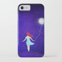 redhead iPhone & iPod Cases featuring redhead by Nancy Woland