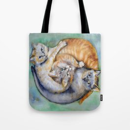 Cuddle Cats Tote Bag