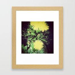 just dandy. Framed Art Print