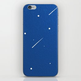 Shooting Stars in a Clear Blue Sky iPhone Skin