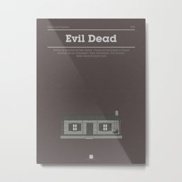 Horror Film Houses 03 Metal Print