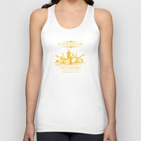 whiskey Tank Tops featuring Lovecraftian Whiskey by pigboom el crapo