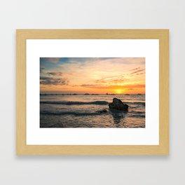 BORACAY 03 Framed Art Print
