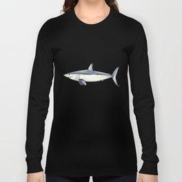 Mako shark (Isurus oxyrinchus) Long Sleeve T-shirt