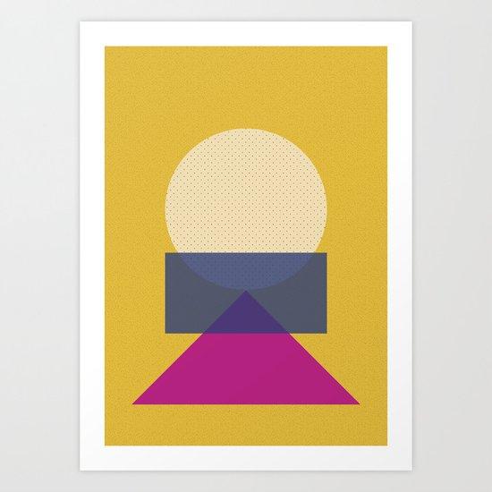 Cirkel is my friend V5 Art Print