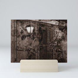 Sicilian Nocturnal Impression - Duplex Mini Art Print