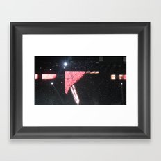 Tattoos on this Town Framed Art Print