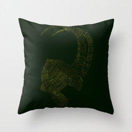 I am Loki, of Asgard Throw Pillow