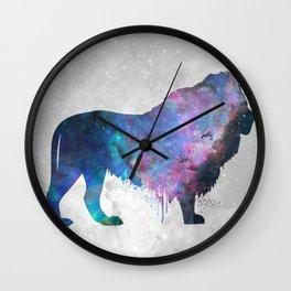 Galaxy Series (Lion) Wall Clock