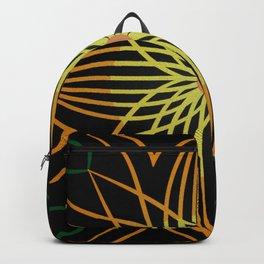Fall Sunflower in Black Backpack