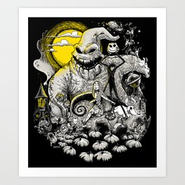 Nightmare! Art Print