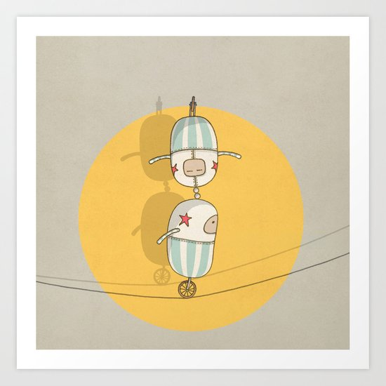 circus 003 Art Print
