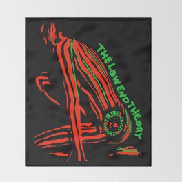 A Tribe Called Quest The Low End Theory Throw Blanket
