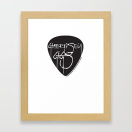 guernsey gigs Framed Art Print